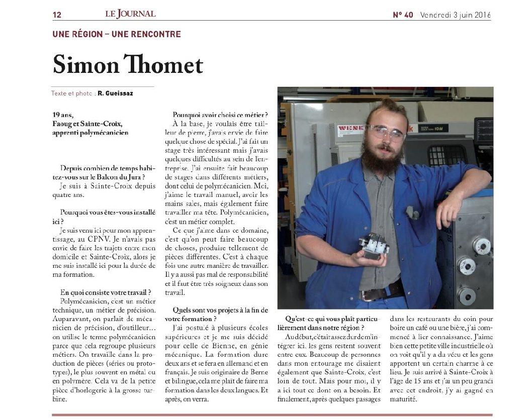 Simon Thomet